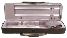 Professional style oblong violin case